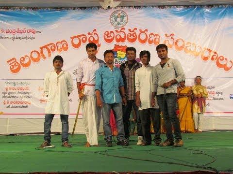 kaloji poems @ Telangana Formation Day Celebrations in karimnagar