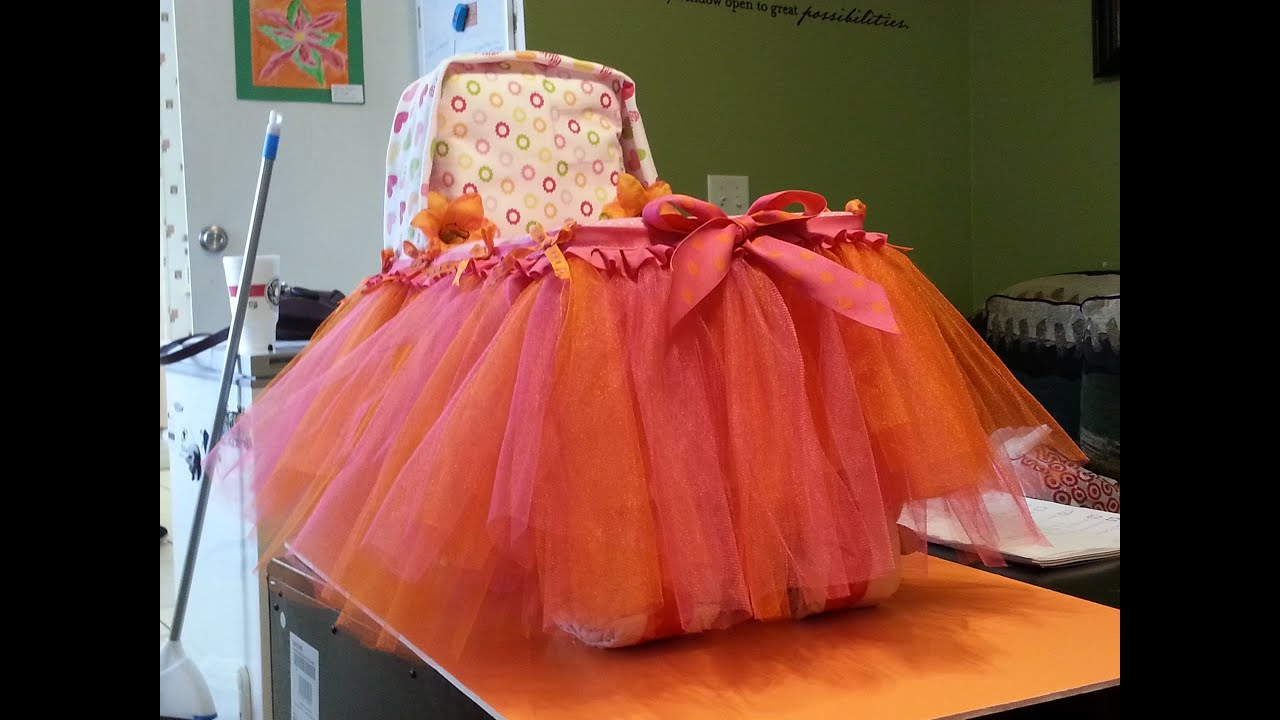 How To Make A Large Bassinet Diaper Cake