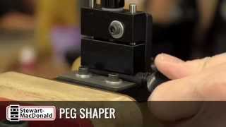 Watch the Trade Secrets Video, Shaping Friction Pegs with our Peg Shaper