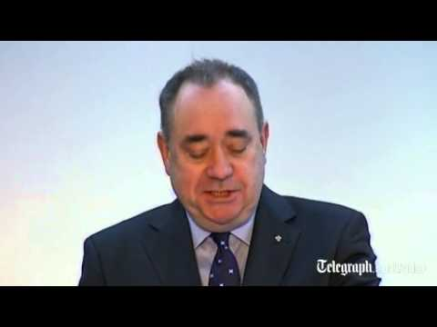 Alex Salmond sets out plan for Scottish independence