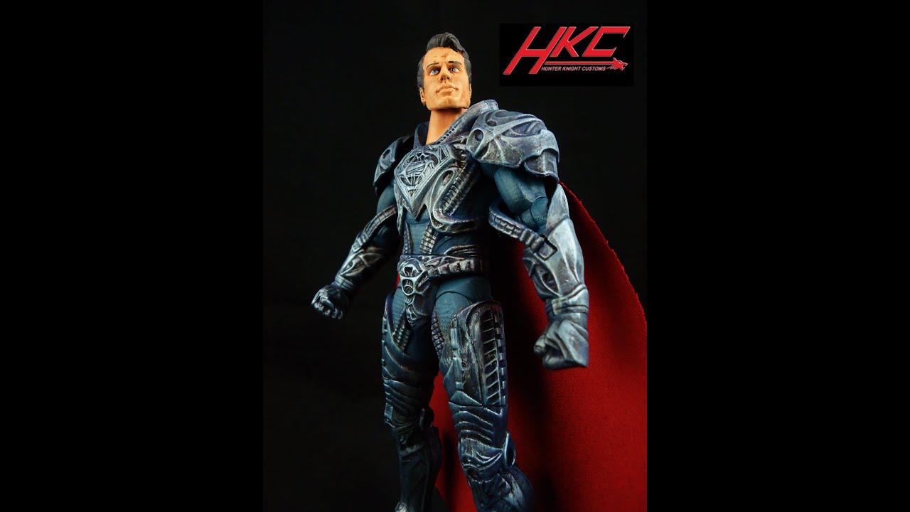 ... | GeekSummit's Custom Ab Crunch Superman Movie Masters Action Figure