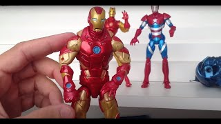 Marvel Legends Homem De Ferro 3 Wave 1 Review