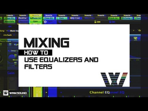 EQ Parameters and Filter Types | WinkSound