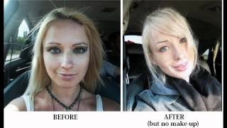BEFORE And AFTER Valeria Lukyanova