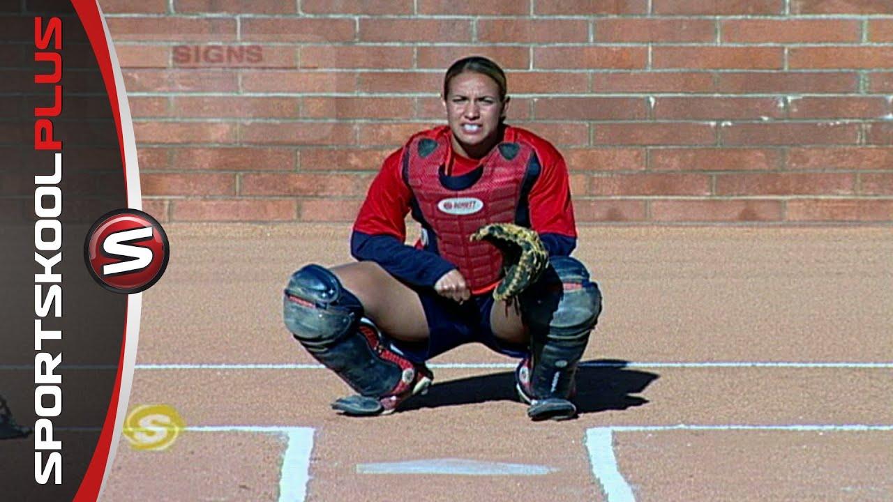 Catcher softball