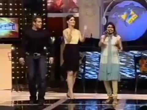 salman khan dancing on chikni chameli song with katrina kaif