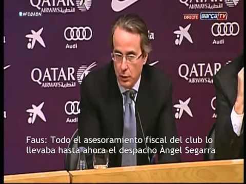 Bartomeu, Faus y Calsamiglia explican la implicación de Deloitte en el caso Neymar