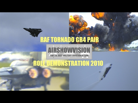 (HD) RAF TORNADO GR4 ATTACK DEMO (enhanced version) - airshowvision