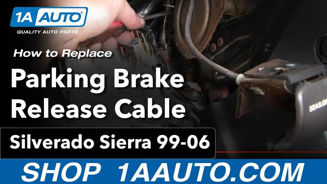 How To Install Repair Replace Parking Brake Release Cable