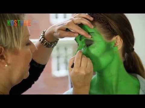 Tutorial: Auffälliges Hexen Halloween-Make-Up