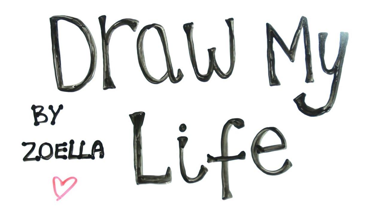 Draw My Life | Zoella - YouTube