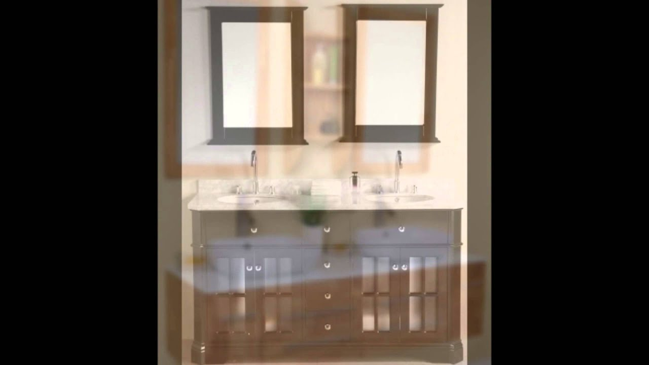Small Double Vanity Sinks : Small Double Sink Bathroom Vanities - YouTube