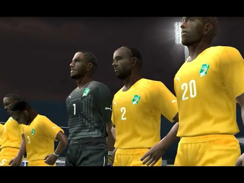 PES6 2014 Greece World Cup - Cote d' Ivoire vs Honduras - Group H MD2
