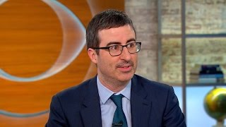 John Oliver Strategically Deflects Praise from Charlie Rose