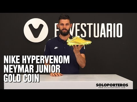 Review nike Hypervenom Gold Neymar Jr.