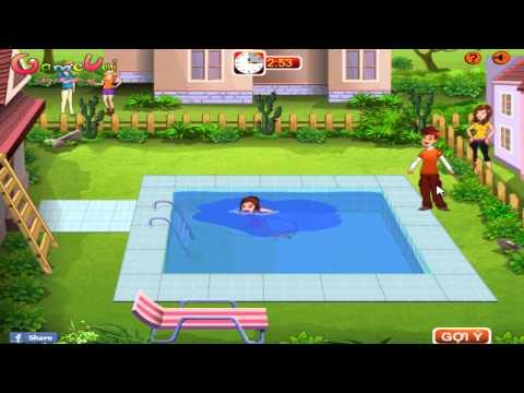 Hướng dẫn chơi game Chọc phá cô hàng xóm - Naughty Neighbor trên Game Vui