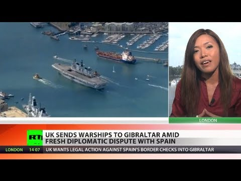 Gibraltar Gambit: UK sends warships to colony amid image