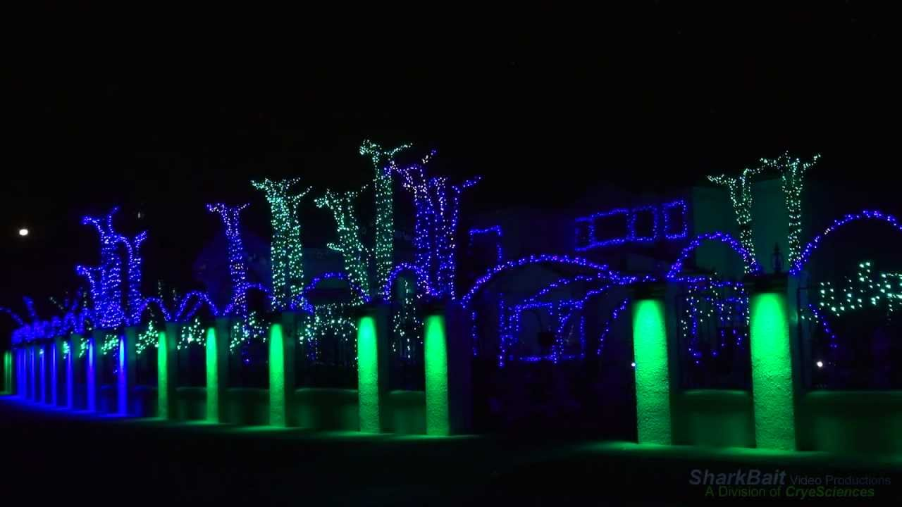 The Fred Loya El Paso Christmas Lights Show 2011 YouTube | Fred ...