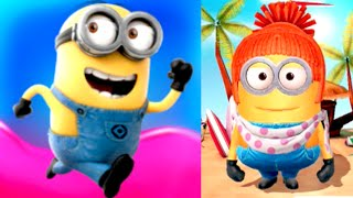 LUCY MINION! Despicable Me: Minion Rush Jelly Lab Gameplay