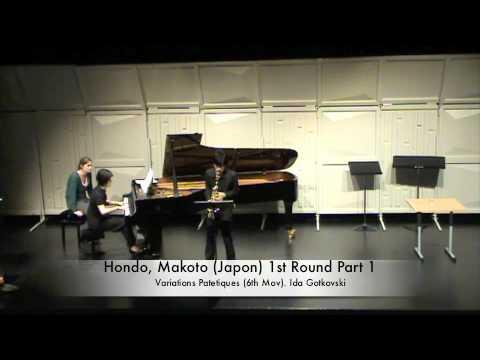 Hondo, Makoto (Japon) 1st Round Part 2