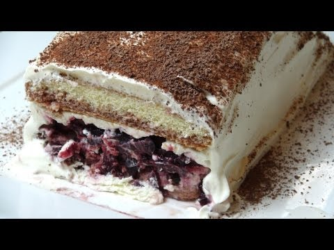 No Bake Black Forest Cake - RECIPE