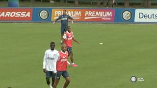 ALLENAMENTO INTER REAL AUDIO 22 09 2016