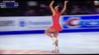 2018 U.S. figure skating championship 2nd PLACE Mirai Nagasu OMG TRIPLE AXEL