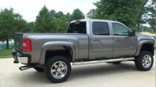 SOLD !! 2008 CHEVROLET SILVERADO 2500 HD 4X4 LIFTED DURAMAX FOR SALE SEE WWW SUNSETMILAN COM videos