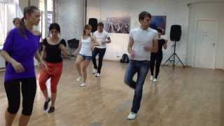 Vlad Kuzmin in Mambo GROUP. Cha cha cha master-class