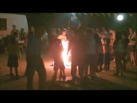 Αναβίωση Κλήδονα - Φωτιές Άι Γιαννιού στο Λαύριο 2