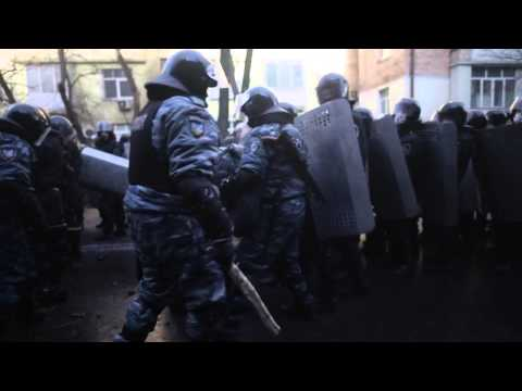 Ukraine protests: Fighting in Kiev 18.02.2014
