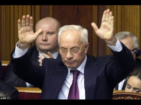 ENTIRE GOVERNMENT COLLAPSE!  UKRAINE PM Resigns! 1.28.14