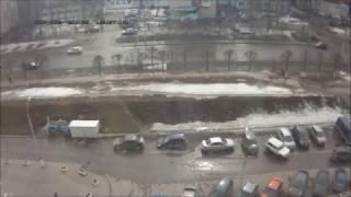 ДТП на парковке Чебоксары. Аварии и ДТП с видеорегистраторов