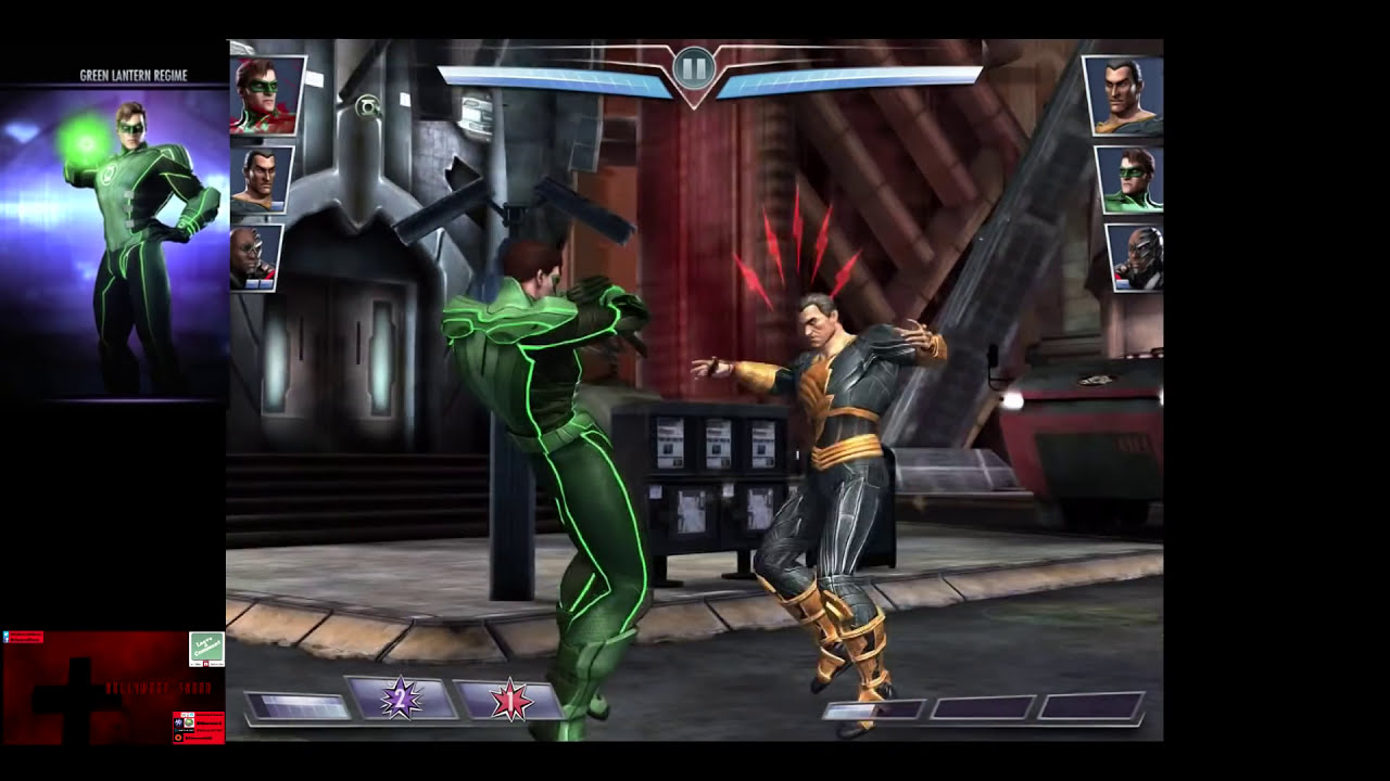 Injustice green lantern alternate costume