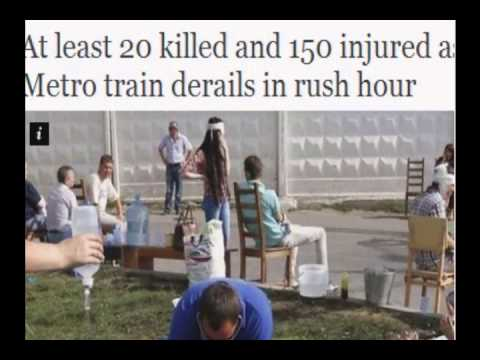 Breaking Moscow subway derailment 21 dead, 136 injured 2014
