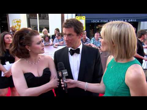 Helena Bonham Carter & Dominic West - BAFTA Television Awards Red Carpet in 2014