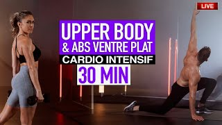 UPPER BODDY PUMP & ABS VENTRE PLAT  🔥  Justine Gallicr
