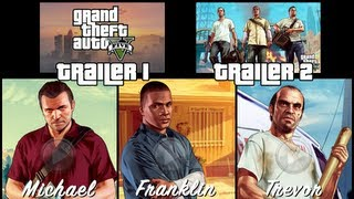 GTA 5 All Trailers Todos Os Trailers LEGENDADO Grand