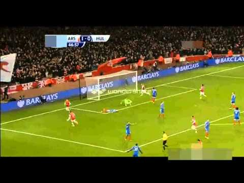 Arsenal 2 - 0 Hull City - England - Premier League - Full Highlights - 4.12.13
