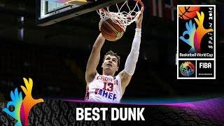 Croatia v Senegal - Best Dunk - 2014 FIBA Basketball World Cup