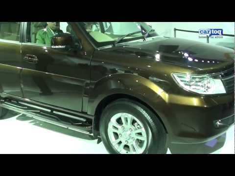 Tata Safari Storme Video Review live from Auto Expo 2012 by CarToq.com