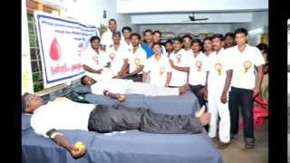 GO INDIA  FOUNDATION  BLOOD CAMP .ARANI