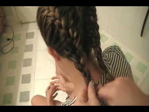 show me how to french braid