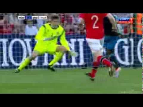 Goal Ashley Young England vs Norway 1-0 - All Goals and All Highlights 26/5/2012