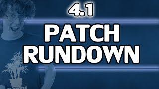 ♥ Patch Rundown - 4.1 - Sp4zie