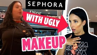 I Wore UGLY MAKEUP To SEPHORA – THEY TURNED AWAY FROM ME | Mar
