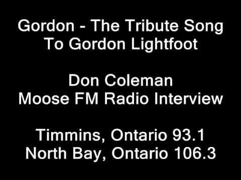 Don Coleman Interview - Moose FM (Timmins & North Bay, Ontario, Canada)
