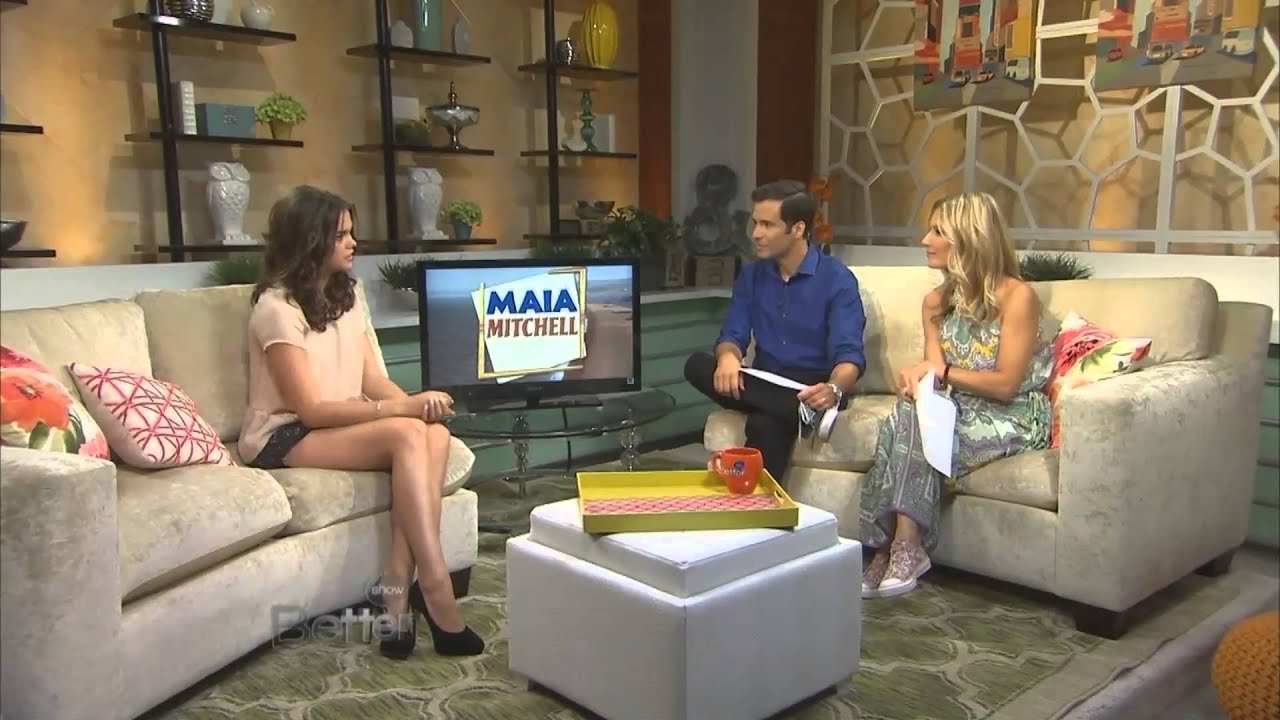 16> Images For - David Lambert And Maia Mitchell Kiss Gif