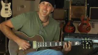Demo Gibson Nighthawk Guitar Smaller Than A Les Paul