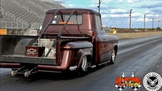 Trent Willson Radical Classic Drag Racing Chevy Truck
